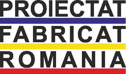Proiectat/Fabricat în România